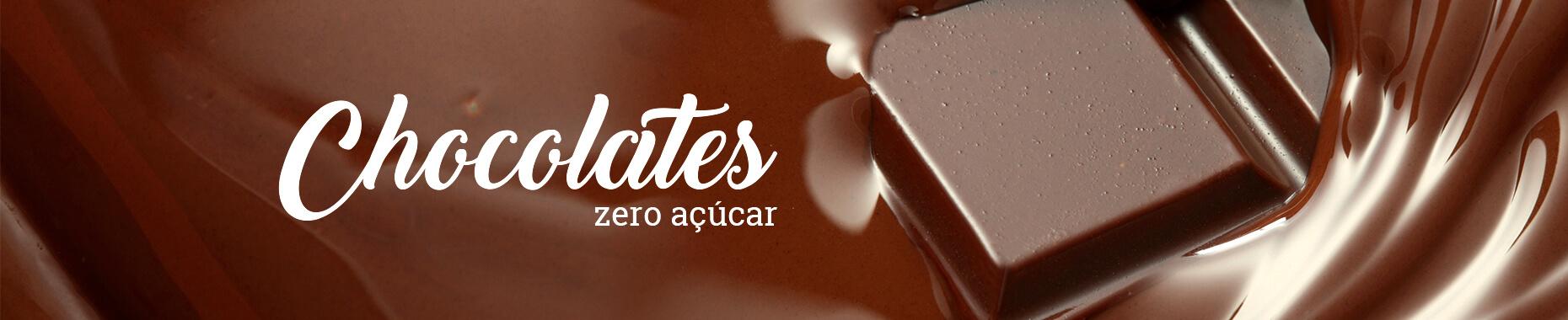 chocolates zero açúcar